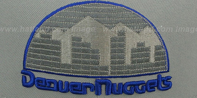 Nuggets '2T HWC GREY-POP' Fitted Hat by New Era