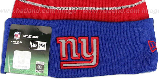 NY Giants 'THANKSGIVING DAY' Knit Beanie Hat by New Era