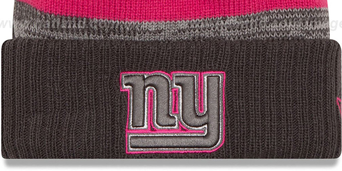 NY Giants '2016 BCA STADIUM' Knit Beanie Hat by New Era