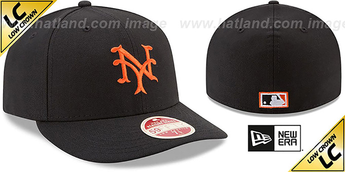 NY Giants 'LOW-CROWN VINTAGE' Fitted Hat by New Era