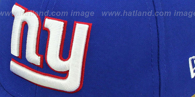 ... NY Giants  SIDE TEAM-PATCH  Royal Fitted Hat by New Era ... c3fda2da6