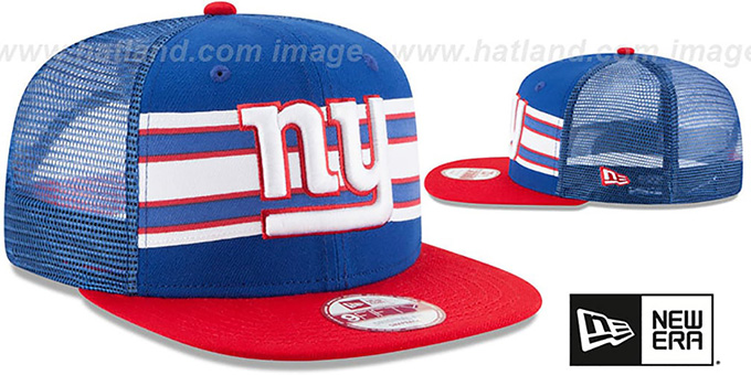 cee03373d8e54 ... cheapest ny giants throwback stripe snapback royal red hat by new era  0c431 bb67a