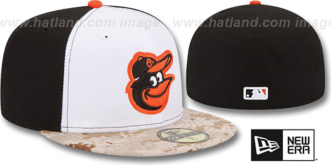 Orioles '2015 STARS N STRIPES' Fitted Hat by New Era