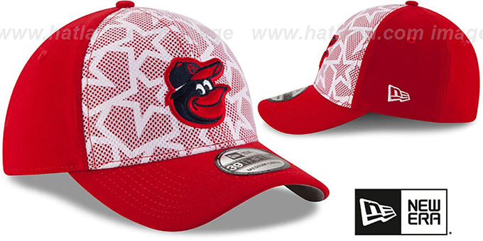 Orioles '2016 JULY 4TH STARS N STRIPES FLEX' Hat by New Era