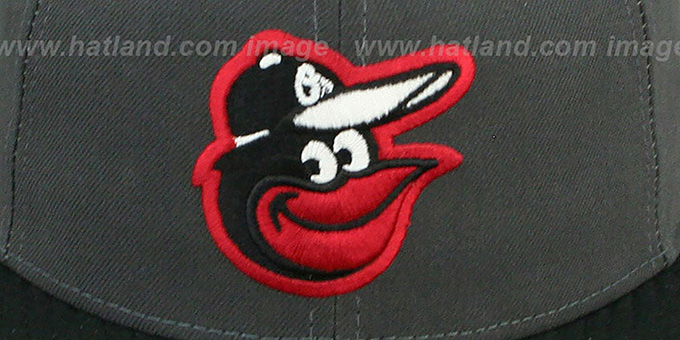 Orioles '2T-FASHION' Grey-Black Fitted Hat by New Era