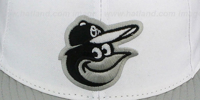 Orioles '2T-FASHION' White-Grey Fitted Hat by New Era