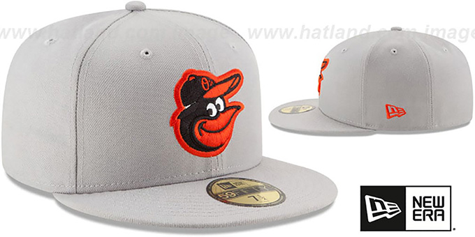 Orioles 'STATE STARE' Grey Fitted Hat by New Era