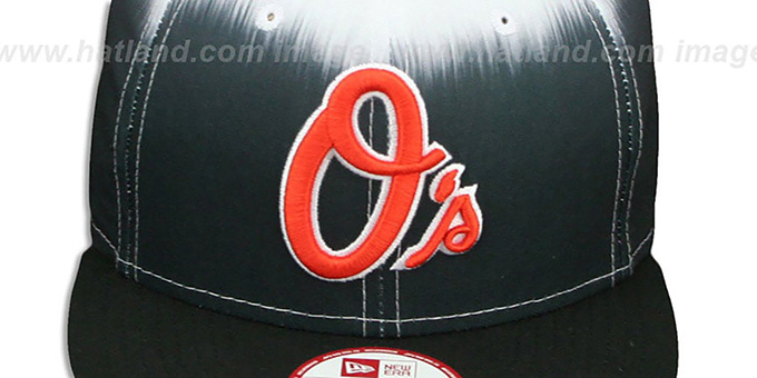 Orioles 'SUBLENDER SNAPBACK' Black-White Hat by New Era