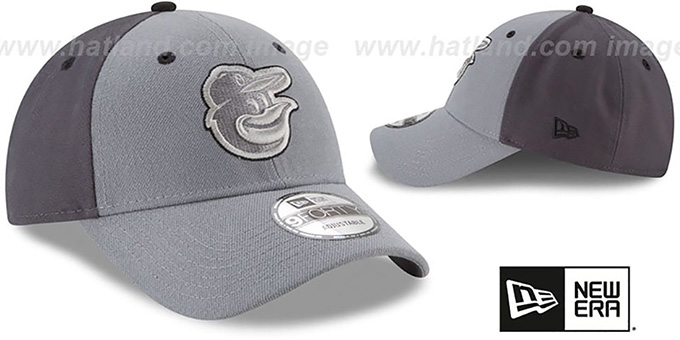 Orioles 'THE-LEAGUE GREY-POP STRAPBACK' Hat by New Era