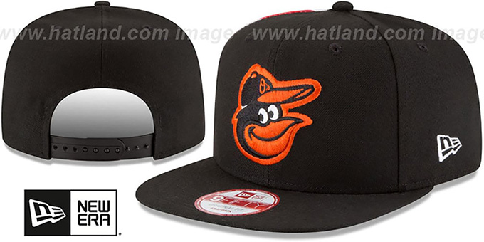 Orioles 'USA FLAG-SIDE SNAPBACK' Black Hat by New Era
