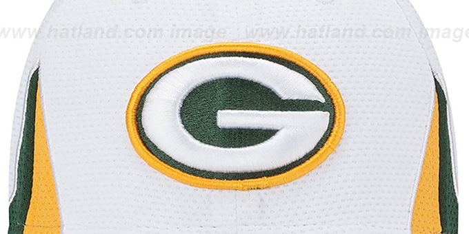 Packers '2013 NFL TRAINING FLEX' White Hat by New Era