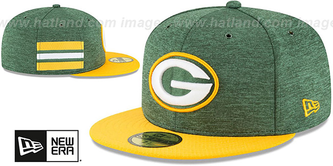Packers 'HOME ONFIELD STADIUM' Green-Gold Fitted Hat by New Era