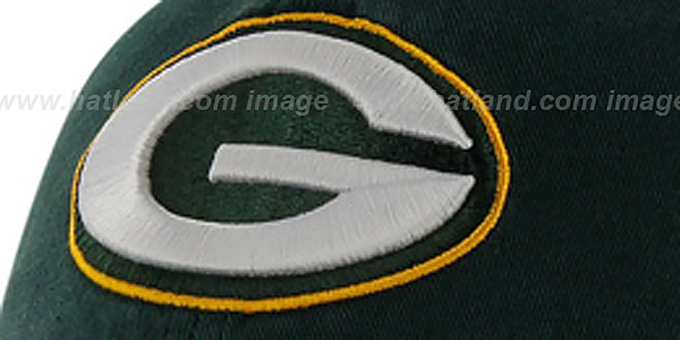 Packers 'NFL FRANCHISE' Green Hat by 47 Brand