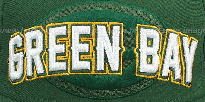 Packers 'NFL ONFIELD DRAFT' Green Fitted Hat by New Era