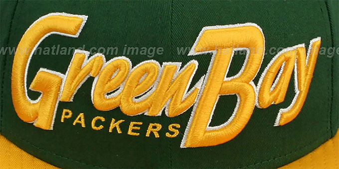 Packers 'SNAP-IT-BACK SNAPBACK' Green-Gold Hat by New Era