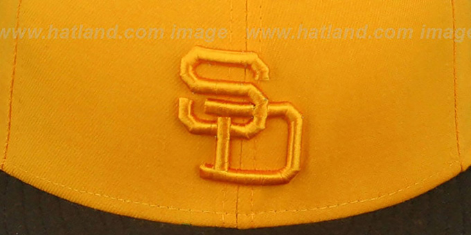 Padres '1972 ROAD FASHION' Gold-Brown Hat by New Era