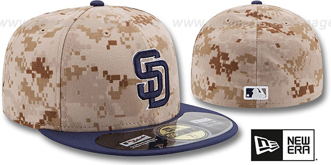 Padres '2014 STARS N STRIPES' Fitted Hat by New Era