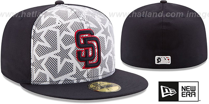 Padres '2016 JULY 4TH STARS N STRIPES' Fitted Hat by New Era