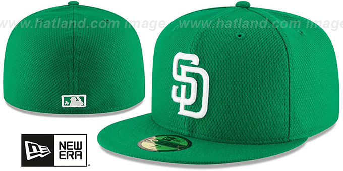 Padres '2016 ST PATRICKS DAY' Hat by New Era