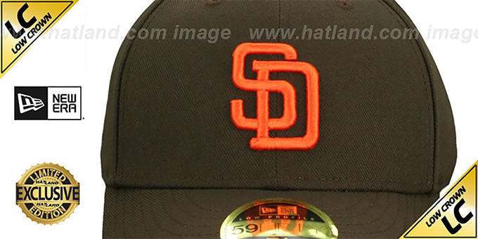 Padres 'LOW-CROWN 1985-90 COOPERSTOWN' Fitted Hat by New Era