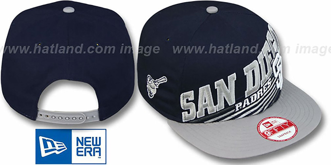 Padres 'STILL ANGLIN SNAPBACK' Navy-Grey Hat by New Era