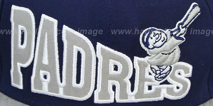 Padres 'STOKED SNAPBACK' Navy-Grey Hat by New Era