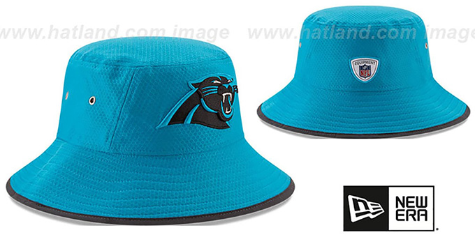 Panthers '2017 NFL TRAINING BUCKET' Blue Hat by New Era