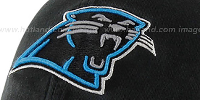 Panthers 'NFL FRANCHISE' Black Hat by 47 Brand