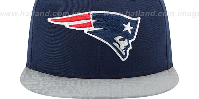 Patriots '2014 NFL DRAFT' Navy Fitted Hat by New Era