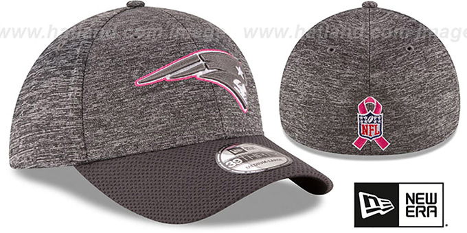Patriots '2016 BCA FLEX' Grey-Grey Hat by New Era