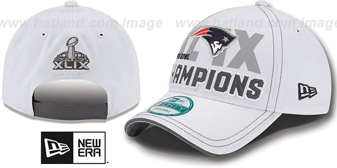 Patriots 'SUPER BOWL XLIX CHAMPS' Snapback Hat by New Era