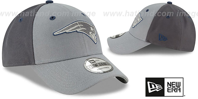 Patriots 'THE-LEAGUE GREY-POP STRAPBACK' Hat by New Era
