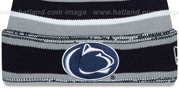 Penn State 'NCAA-STADIUM' Knit Beanie Hat by New Era