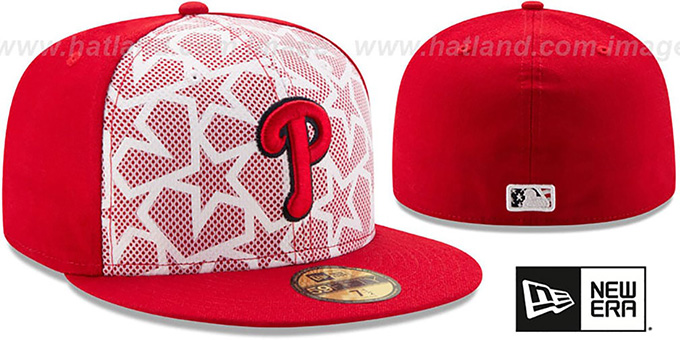 Phillies '2016 JULY 4TH STARS N STRIPES' Fitted Hat by New Era