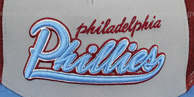 Phillies COOP 'MARK-MESH A-FRAME SNAPBACK' Hat by New Era