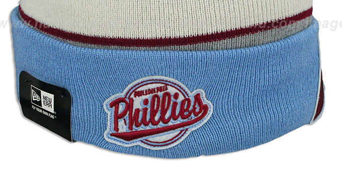 info for 97b6b 34ced ... Phillies COOP  WINTER TRADITION  Knit Beanie Hat by New Era ...