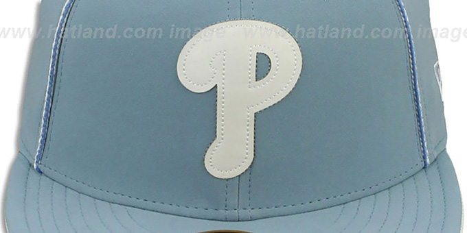 Phillies 'SKY BLUE DaBu' Fitted Hat by New Era