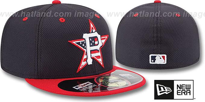 best service 518d4 322bc ... Pirates  2014 JULY 4TH STARS N STRIPES  Hat by New Era ...