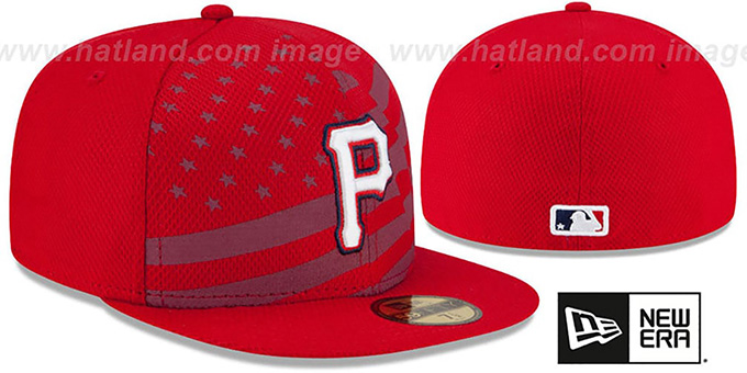 size 40 24340 0872a ... Pirates  2015 JULY 4TH STARS N STRIPES  Hat by New Era ...