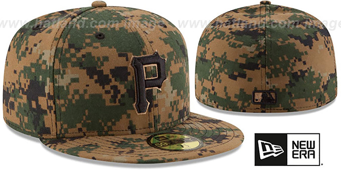 Pirates 2016 MEMORIAL DAY 'STARS N STRIPES' Hat by New Era