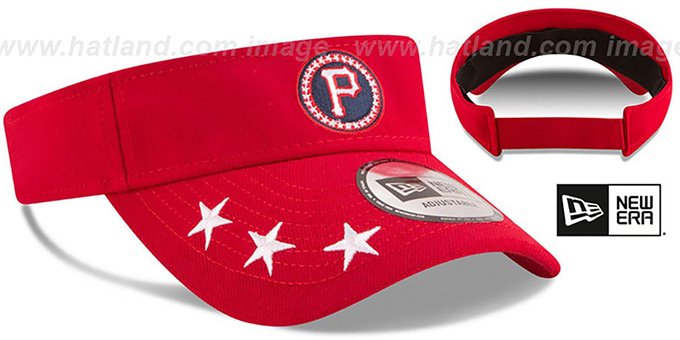 Pirates '2018 MLB ALL-STAR WORKOUT VISOR' by New Era