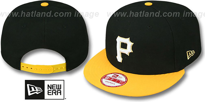 Pirates 'CHAMPS-HASH SNAPBACK' Black-Gold Hat by New Era