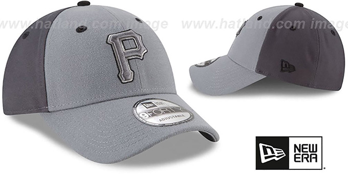 Pirates 'THE-LEAGUE GREY-POP STRAPBACK' Hat by New Era