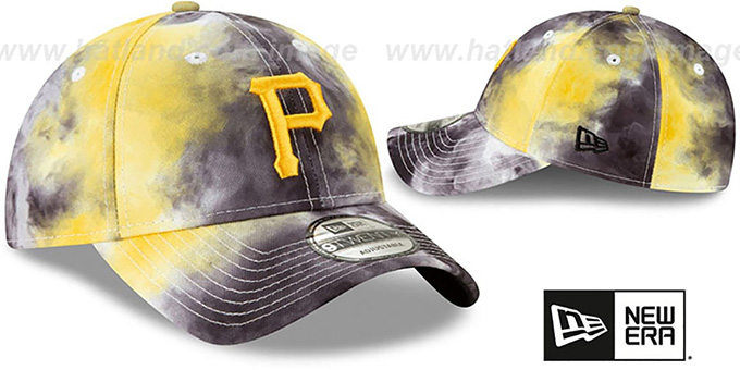 Pirates 'TIE-DYE STRAPBACK' Hat by New Era