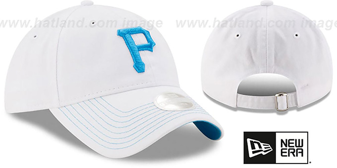 Pirates 'WOMENS POP PREFERRED PICK STRAPBACK' White-Blue Hat by New Era