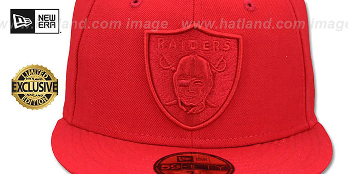Raiders 'NFL REDOUT' Fitted Hat by New Era