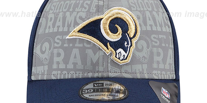 Rams '2014 NFL DRAFT FLEX' Navy Hat by New Era
