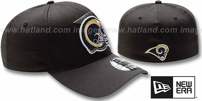 Rams 'NFL BLACK-CLASSIC FLEX' Hat by New Era