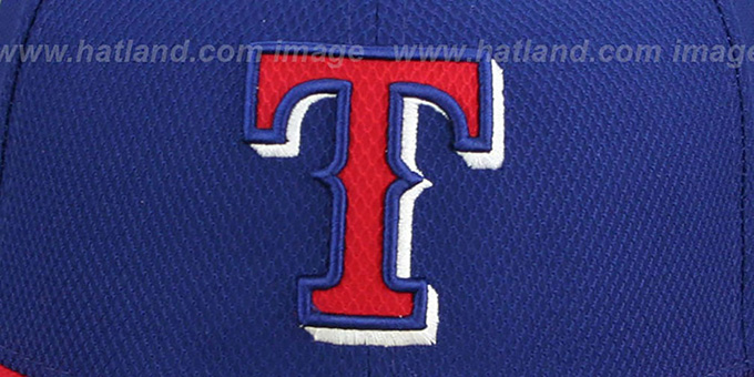 Rangers '2014 DIAMOND-TECH BP' Royal-Red Hat by New Era