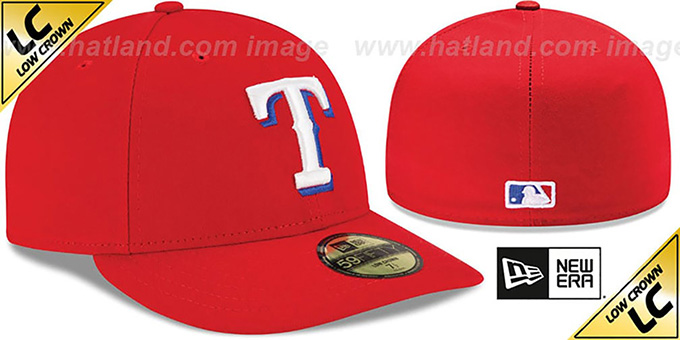 Rangers 'LOW-CROWN' ALTERNATE Fitted Hat by New Era